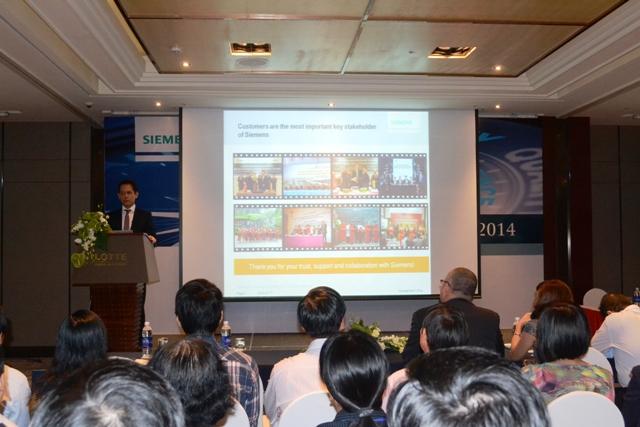 Thuyet trinh cua Tong Giam doc Siemens Vietnam